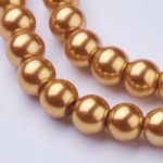 Glass Pearl Beads Peru 8mm